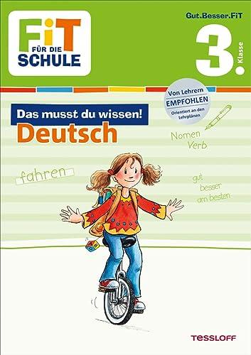 9783788626860: Fit für die Schule: Das musst du wissen! Deutsch 3. Klasse