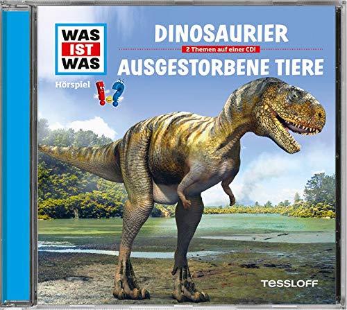 DinosaurierAusgestorbene TiereHörspiel; 2 Themen auf einer CD!;: CrockCarlsson, AnnaRiedl, JakobBaur,