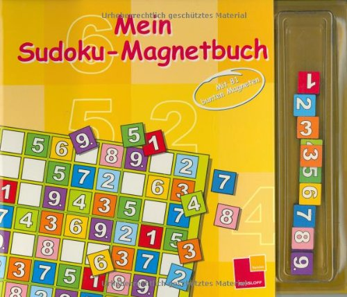 9783788631017: Mein Magnet-Sudoku. Mit 81 bunten Magneten.