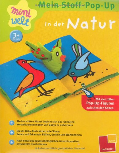 9783788631772: Mein Stoff-Pop-Up. In der Natur