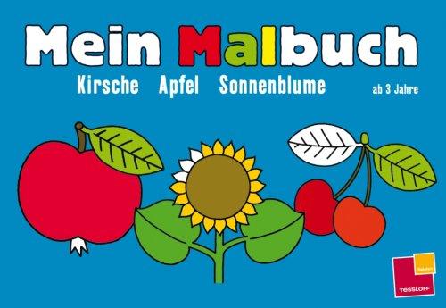 9783788631925: Mein Malbuch Kirsche, Apfel, Sonnenblume