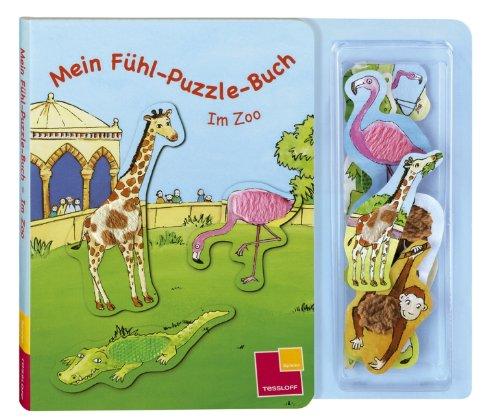 9783788632434: Mein Fühl-Puzzle-Buch. Im Zoo