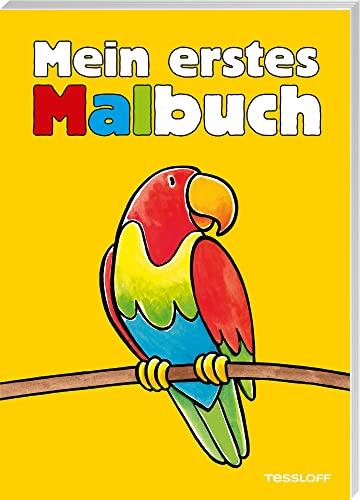 9783788633837: Mein erstes Malbuch (gelb)