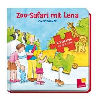 9783788635619: Zoo-Safari mit Lena. Puzzlebuch