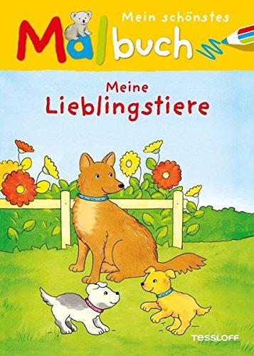 9783788637323: Mein schönstes Malbuch. Meine Lieblingstiere