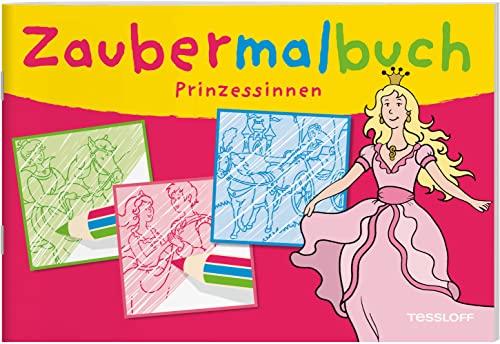 9783788638351: Zaubermalbuch Prinzessinnen: Für die Jüngsten ab 3 Jahren