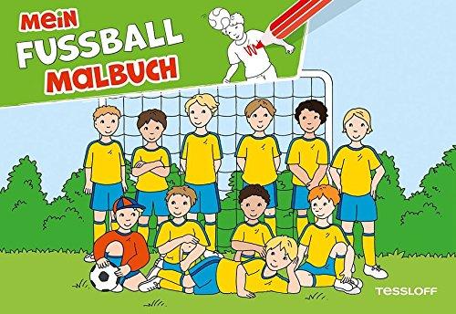 9783788638375: Mein Fu�ball Malbuch