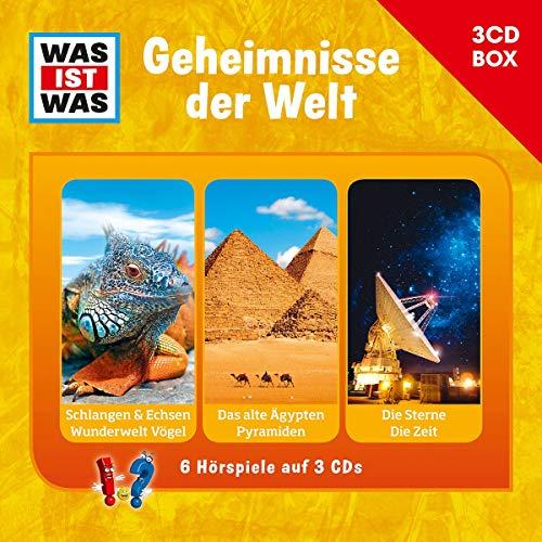 9783788670238: Was Ist Was 3-CD H�rspielbox Vol.3 - Geheimnisse der Welt