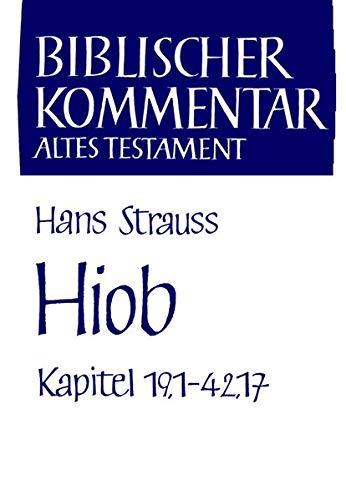 9783788714543: Hiob (Kapitel 19,1-42,17): Kapitel 19-42