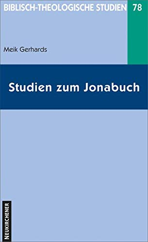 9783788721817: Studien zum Jonabuch