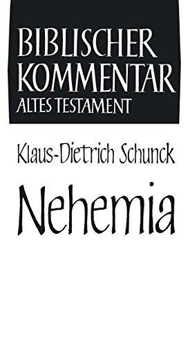 Nehemia: Klaus-Dietrich Schunck