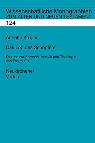 Das Lob des Schöpfers: Annette Krüger