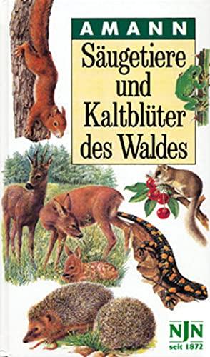 Säugetiere und Kaltblüter des Waldes: Amann, Gottfried /