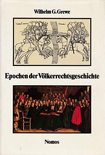 9783789009013: Epochen der Völkerrechtsgeschichte (German Edition)