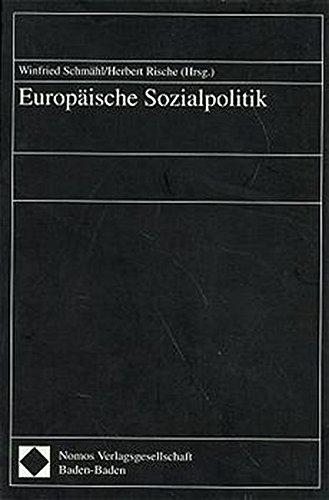 Europäische Sozialpolitik: Winfried Schmähl