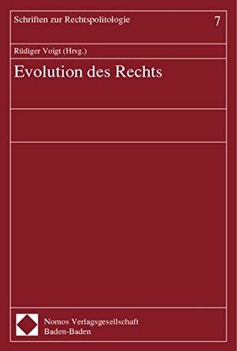 Evolution des Rechts: R�diger Voigt