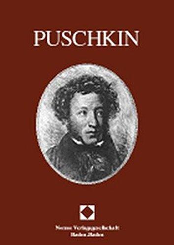 Alexander Puschkin (Baden-Badener Beiträge zur russischen Literatur): Alexander S. Puschkin