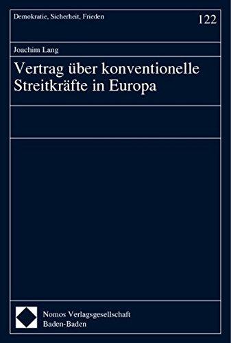 Vertrag über konventionelle Streitkräfte in Europa: Joachim Lang