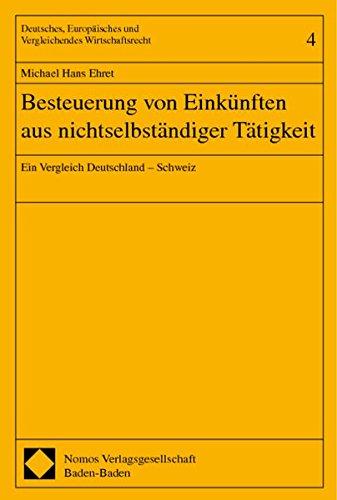 Besteuerung von Einkünften aus nichtselbständiger Tätigkeit: Michael Hans Ehret
