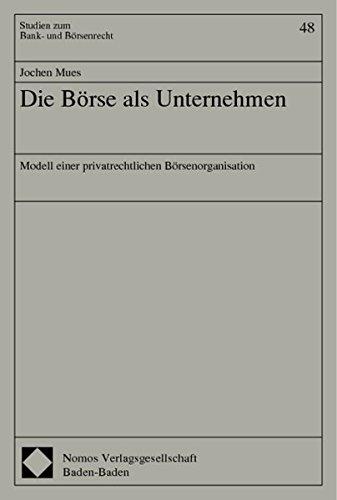 Die Börse als Unternehmen: Jochen Mues