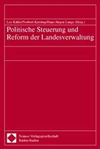 9783789064289: Politische Steuerung Und Reform Der Landesverwaltung