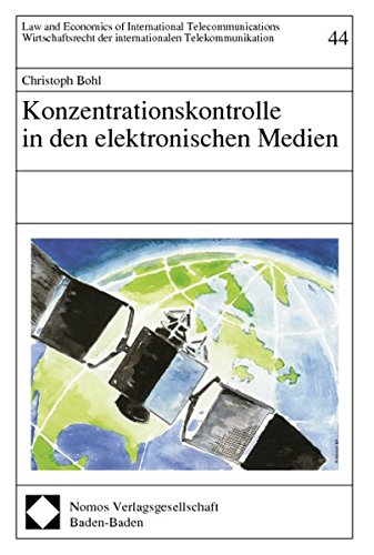 Konzentrationskontrolle in den elektronischen Medien: Christoph Bohl