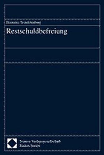 Restschuldbefreiung: Hortense Trendelenburg