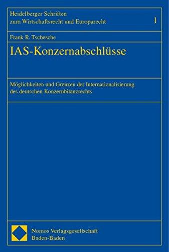 IAS-Konzernabschlüsse