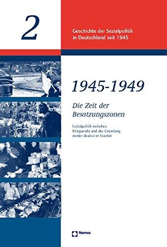 Geschichte der Sozialpolitik in Deutschland seit 1945. Band 1: Grundlagen der Sozialpolitik.: Hrsg....