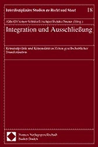 Integration und Ausschließung. Kriminalpolitik und Kriminalität in: Althoff Martina, Cremer-Schäfer