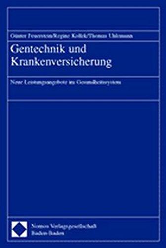 9783789077159: Gentechnik Und Krankenversicherung: Neue Leistungsangebote Im Gesundheitssystem (German Edition)