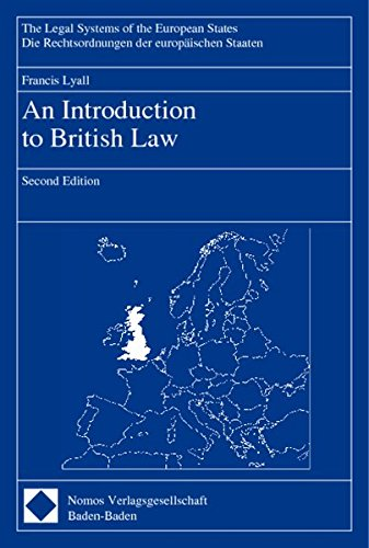 9783789078071: An Introduction to British Law