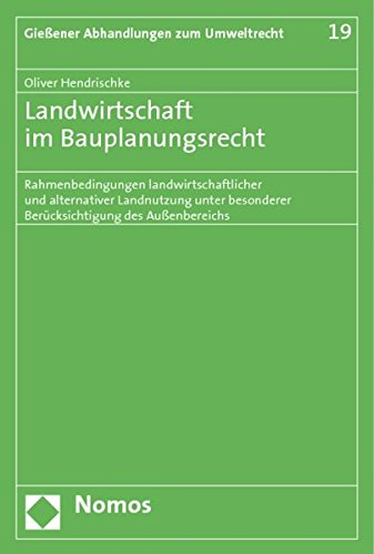 Landwirtschaft im Bauplanungsrecht