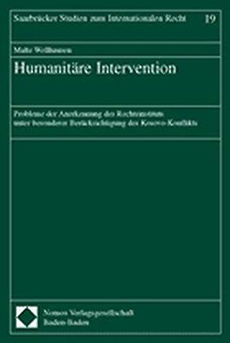 Humanitäre Intervention: Malte Wellhausen