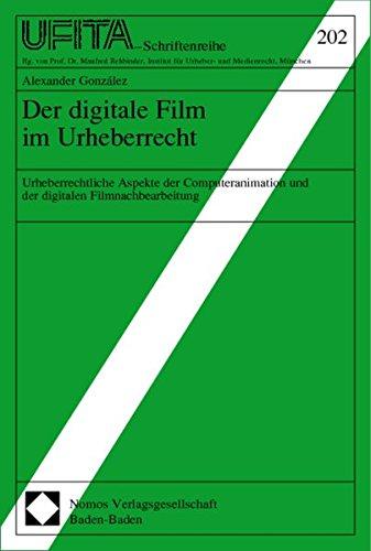 Der digitale Film im Urheberrecht