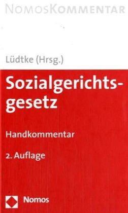 Sozialgerichtsgesetz : Handkommentar: Binder, Stefan