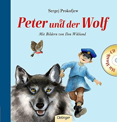 9783789103797: Peter und der Wolf mit CD