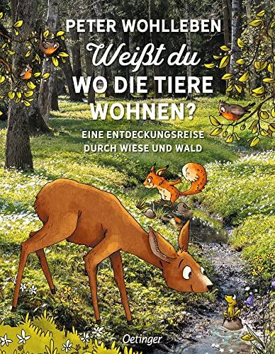 9783789109416: Weißt du, wo die Tiere wohnen?: Eine Entdeckungsreise durch Wiese und Wald