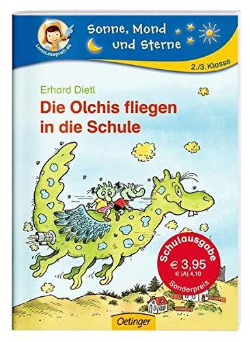 9783789113666: Die Olchis fliegen in die Schule (Schulausgabe)