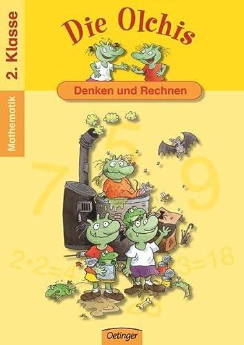 9783789117299: Die Olchis. Denken und rechnen / Klasse 2: Spielend leicht lernen - Mathematik / 2. Klasse