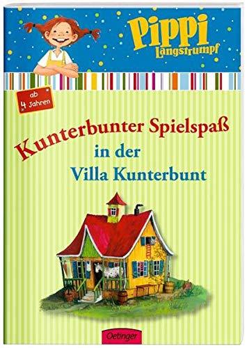 9783789117930: Pippi Langstrumpf. Kunterbunter Spielspaß in der Villa Kunterbunt