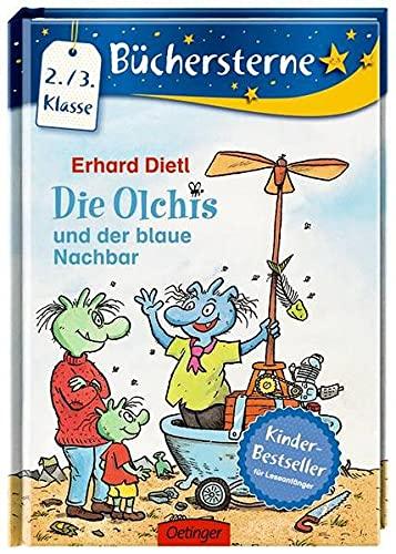 9783789123368: Die Olchis und der blaue Nachbar