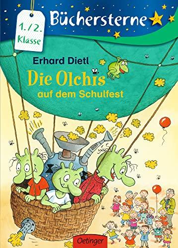 9783789123894: Die Olchis auf dem Schulfest: Mit 16 Seiten Leserätseln und -spielen
