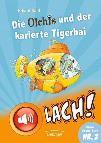 9783789133626: Die Olchis und der karierte Tigerhai (mit Sound)