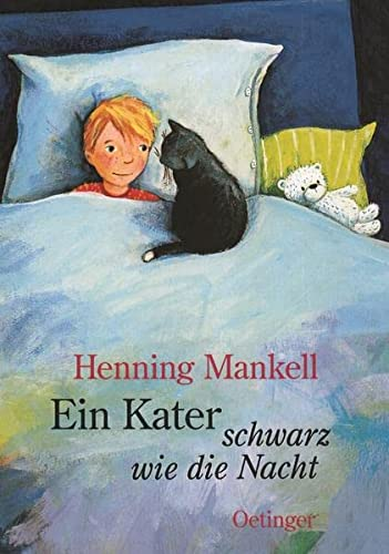 ein kater schwarz wie von mankell henning zvab. Black Bedroom Furniture Sets. Home Design Ideas