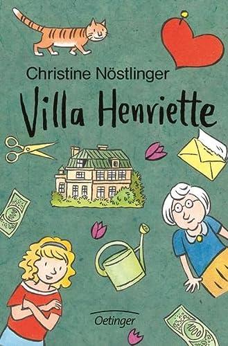 9783789143090: Villa Henriette. ( Ab 12 J.).