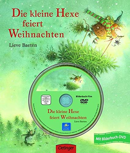 9783789162978: Die kleine Hexe feiert Weihnachten. Bilderbuch mit DVD