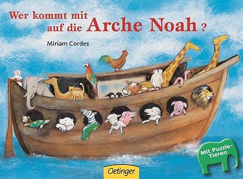 9783789163555: Wer kommt mit auf die Arche Noah? Puzzlebuch
