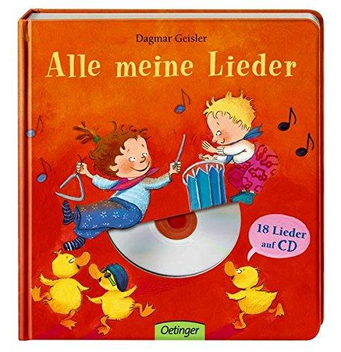 9783789165900: Alle meine Lieder (mit CD) ; Ill. v. Geisler, Dagmar; Deutsch
