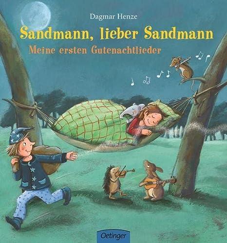 Sandmann, lieber Sandmann - meine ersten Gutenachtlieder - Henze, Dagmar